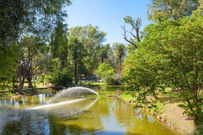 Parque Samiento em Córdoba, Argentina
