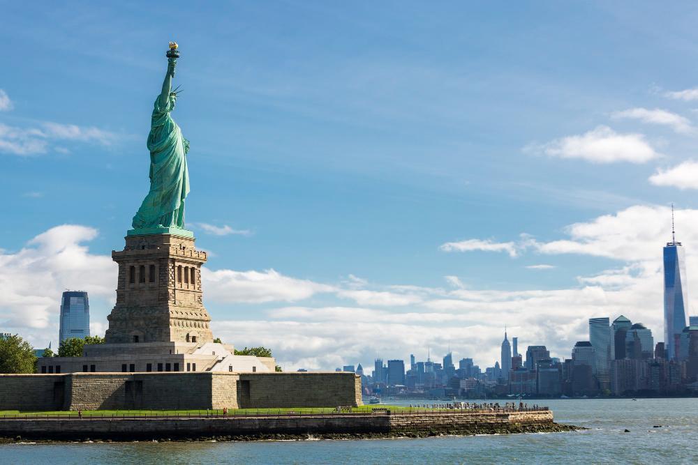 estátua da liberdade em nova york eua